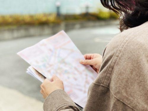 紙の地図を持とう